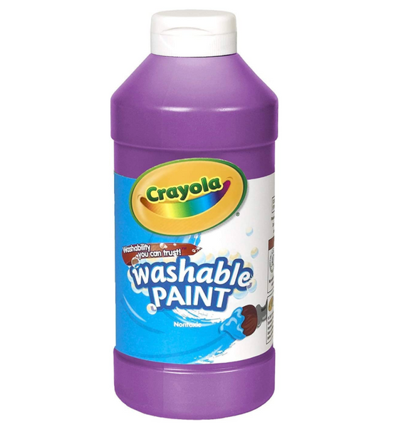 16 oz Washable Paint: Violet