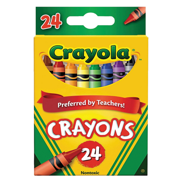 Crayons, Set of 24