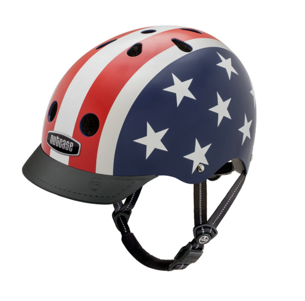 Nutcase: Stars & Stripes Helmet, Little Nutty (XS/ 48 - 52 cm.)