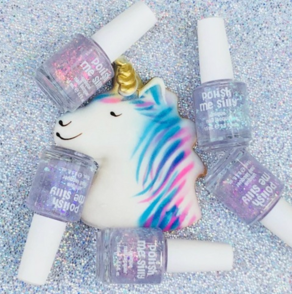 Unicorn Glow: Unicorn Tears Nail Polish