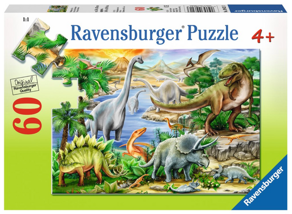 Prehistoric Life 60pc Puzzle (ages 4+)