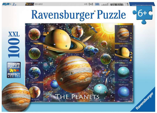The Planets 100pc puzzle (ages 6+)