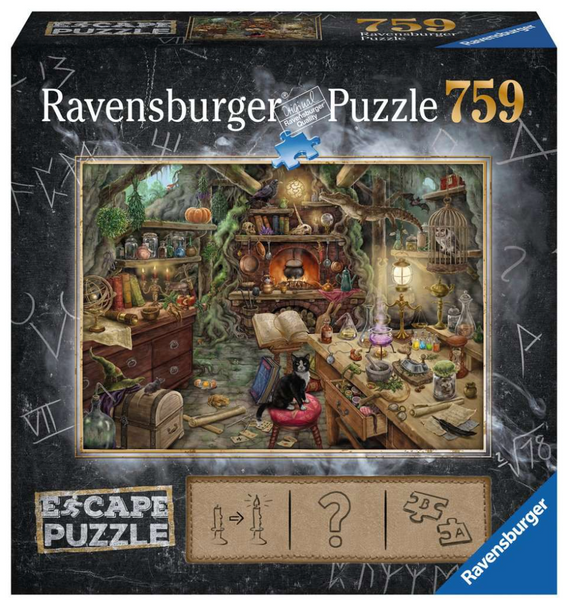 Witch's Kitchen 759pc Puzzle & Activity