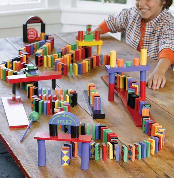 Dominoes Race Set, 255pc