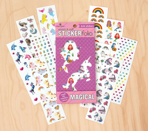 Scratch & Sniff Stickerfolio: Magical