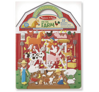 Puffy Reusable Sticker Play Set: On The Farm