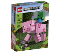 Lego Minecraft: Pig BigFig and Baby Zombie