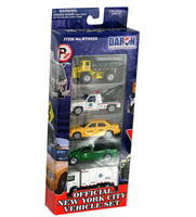 NYC Official Vehicles, Set of 5