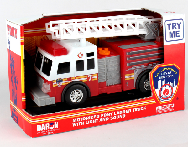 FDNY Motorized Fire Vehicle (with Lights & Sounds)