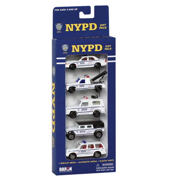NYPD Vehicle Gift Set, Set of 5