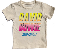 David Bowie Short Sleeve Tee, Multiple Sizes