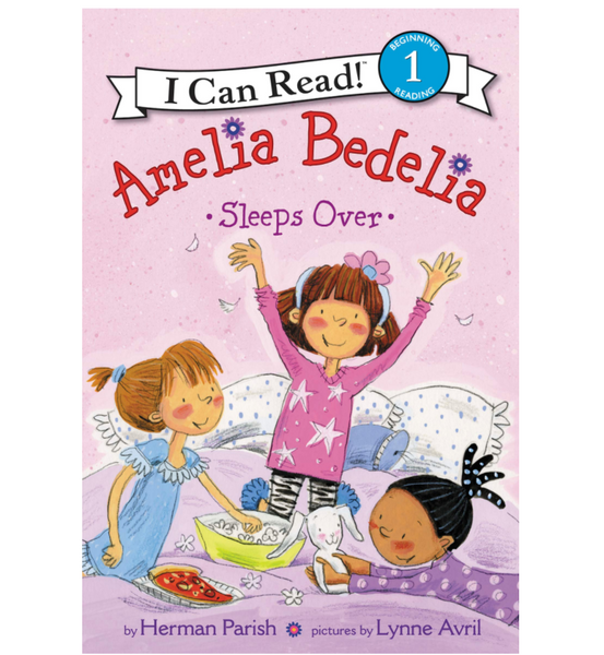 Amelia Bedelia Sleeps Over (ICR Level 1)