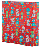 Wrapping Paper: Rockin' Robots