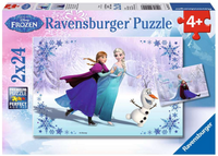 2-pack Frozen Sister Always 24pc Puzzle