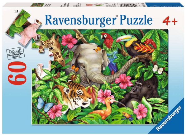 Tropical Friends 60pc Puzzle