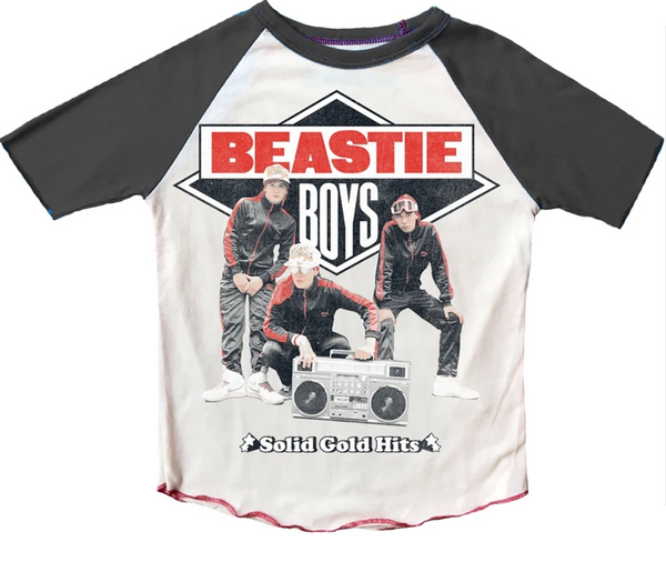 Beastie Boys Raglan Short Sleeve Tee, Multiple Sizes