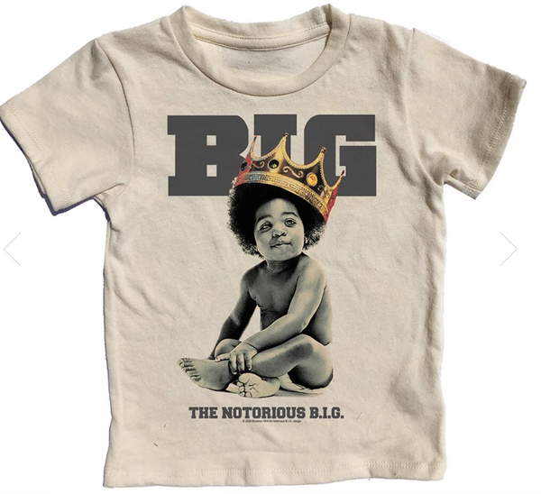 Biggie Smalls Short Sleeve Tee, Multiple Sizes