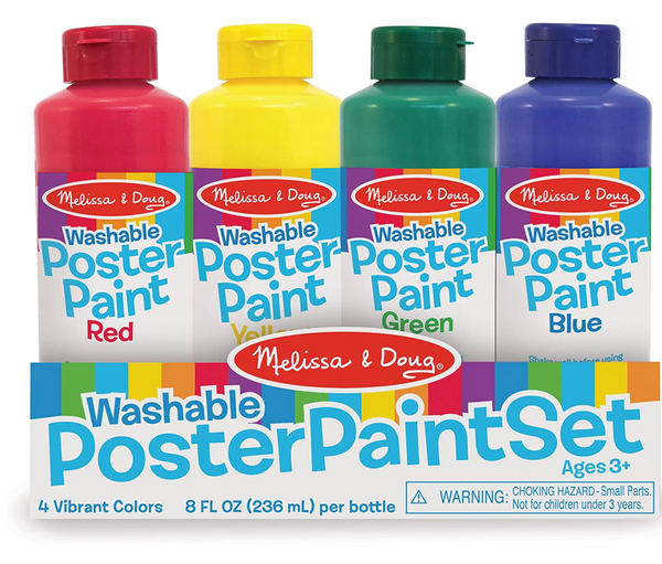 Poster Paints, Set of 4