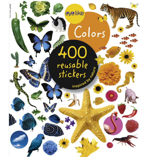 Eyelike Reusable Stickers: Colors