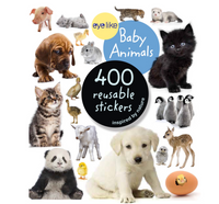 Eyelike Reusable Stickers: Baby Animals