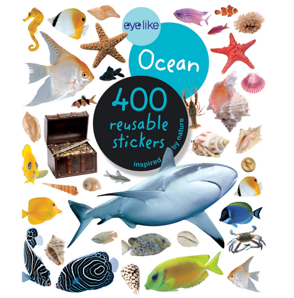 Eyelike Reusable Stickers: Ocean