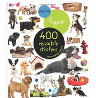 Eyelike Reusable Stickers: Puppies