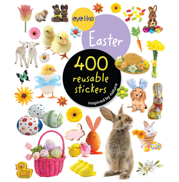 Eyelike Reusable Stickers: Easter