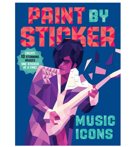 Paint By Stickers: Music Icons