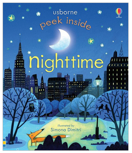 Peek Inside Nighttime, Board Book