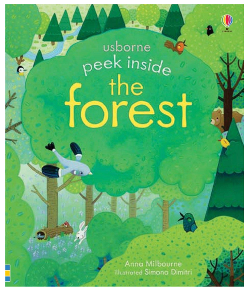 Peek Inside The Forest, Board Book
