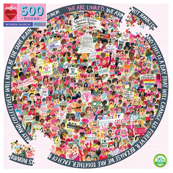Women March! 500pc Puzzle