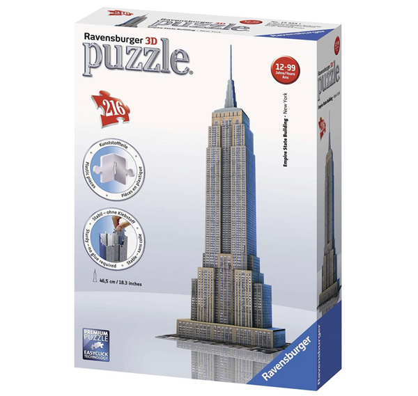 Empire State Building 216pc 3D Puzzle