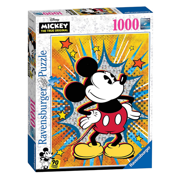 Retro Mickey 1000pc Puzzle