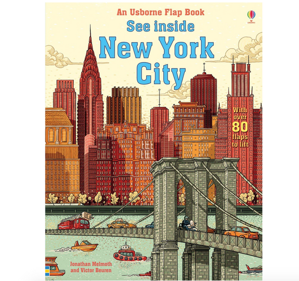 See Inside: New York (A Flap Book)