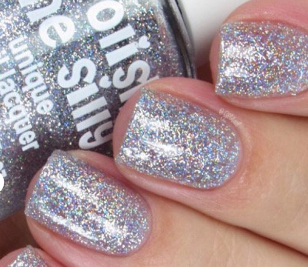 Rainbow Sparkle Disco Ball Nail Polish