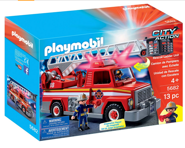Playmobil: Rescue Ladder Unit