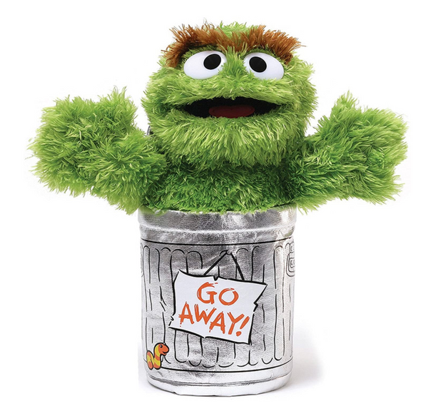 "Oscar the Grouch, 10"" Plush"