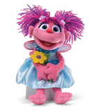 "Abby Cadabby with Flowers, 11"" Plush"