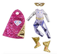 Lottie Doll Acessories: Superhero Outfit