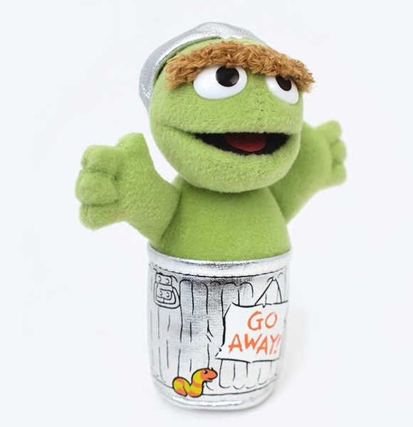 "Oscar the Grouch, 5"" Beanbag Plush"