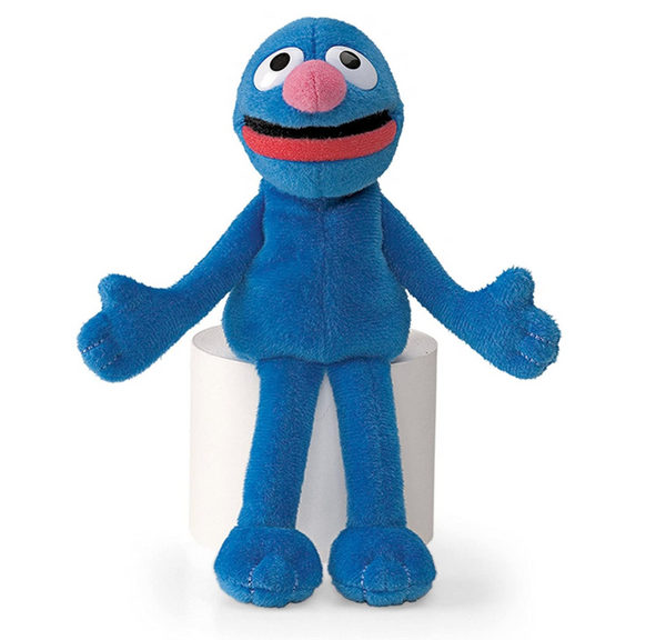"Grover, 7"" Beanbag Plush"