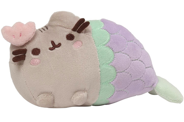 Stuffed Pusheen Mermaid, 7""
