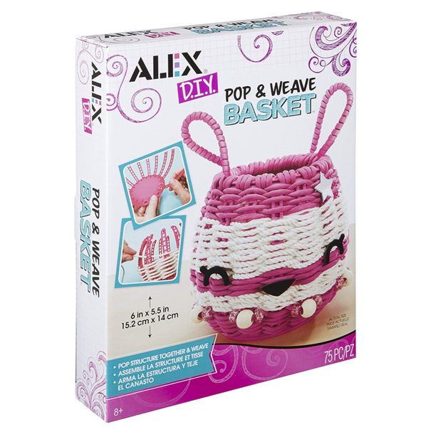 DIY Pop & Weave Basket Kit