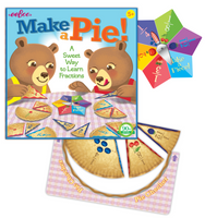 Make a Pie! Game (Learning Fractions)