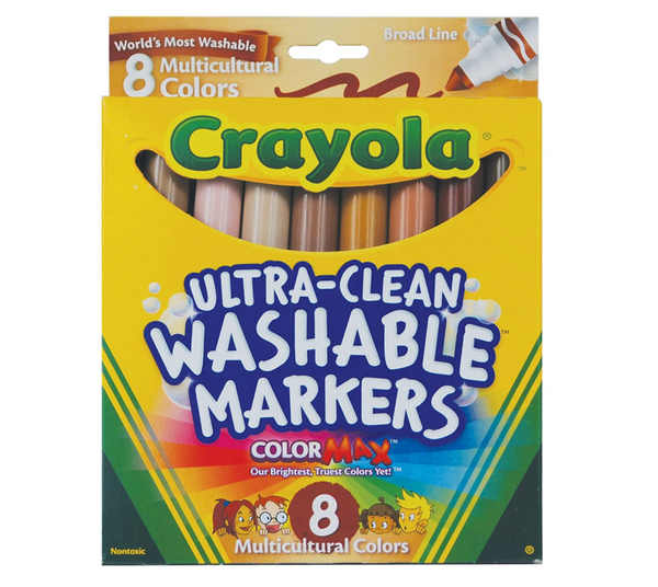 Broad Line Multicultural Markers, Set of 8