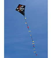 "Eddy Jolly Roger 20"" Diamond Kite"
