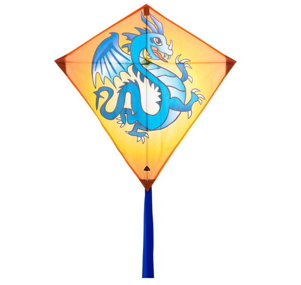 "Eddy Dragon 20"" Diamond Kite"