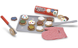 Slice and Bake Wooden Cookie Set
