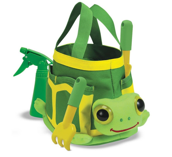 Turtle Gardening Tote Set With Tools