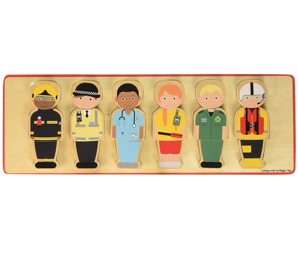 People Who Help Us, Wooden Puzzle